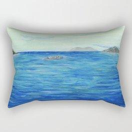 Old Hawaii 3 of 3 Rectangular Pillow