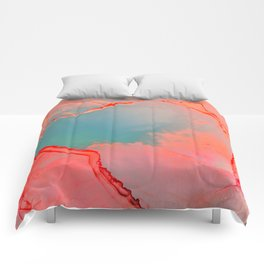 BETTER TOGETHER - LIVING CORAL by MS Comforters