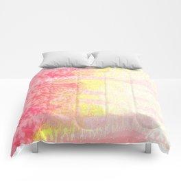 Pink & Yellow Cedar Comforters