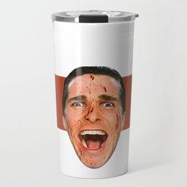 American Psycho Tribute Travel Mug
