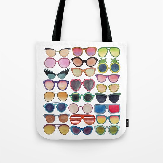 Sunglasses by Veronique de Jong Tote Bag