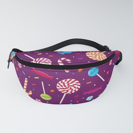 Delightful Candy Pattern Fanny Pack