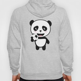Soccer Panda with ball T-Shirt for all Ages Dkbjf Hoody