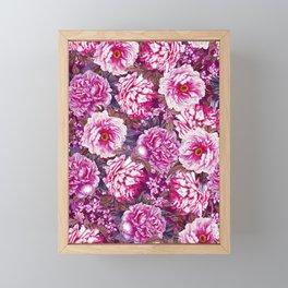 Romantic Garden VII Framed Mini Art Print