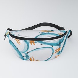 Blue Crab Decorative Fanny Pack