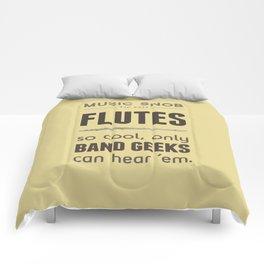 MORE Flutes — Music Snob Tip #413.5 Comforters
