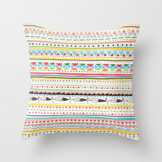Pattern No.2 Throw Pillow