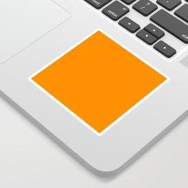 color UT orange Sticker