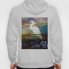 Egret In The Wilderness By Annie Zeno Hoody