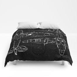 Spitfire Mk. XIV (Dark) Comforters