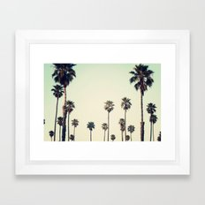 California  Framed Art Print