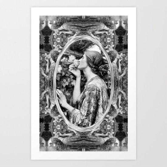 Soul Rose Art Print