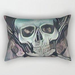 Love & death Rectangular Pillow