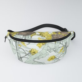 The sunflower brigade Fanny Pack