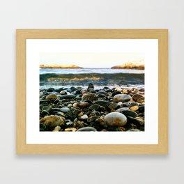 Rocky Coast of Maine  Framed Art Print