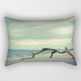 Coastal Landscape Photograph The Cove - Beach Rectangular Pillow