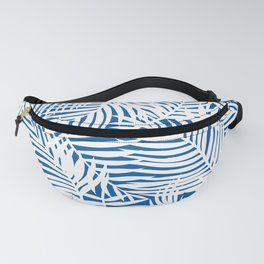 Bright Tropical Island Blue Fanny Pack