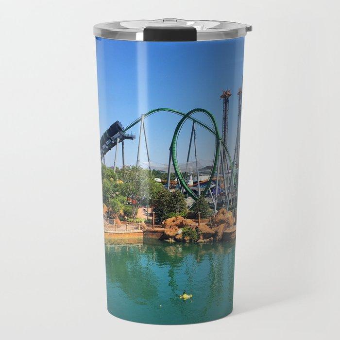 Roller Coaster Travel Mug