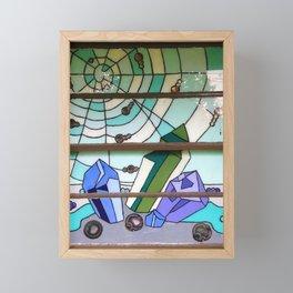 Stones & Webs Framed Mini Art Print