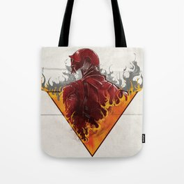 A World on Fire Tote Bag