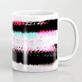 pink, green and black stripes Coffee Mug