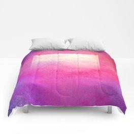 Square Composition I Comforters