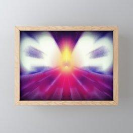 Flying into the Light Framed Mini Art Print