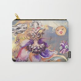Inner Journey of Jester Buttons Carry-All Pouch