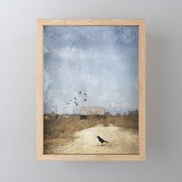 The Crow Framed Mini Art Print