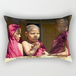 Reflections of Myamar Rectangular Pillow