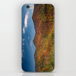Autumn on the Mountains of the Parkway iPhone Skin