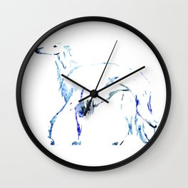 For the Love of Borzoi Wall Clock