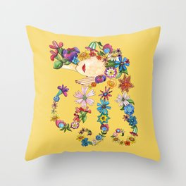 Sleeping Beauty II Throw Pillow