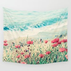 Sea of Poppies Wall Tapestry