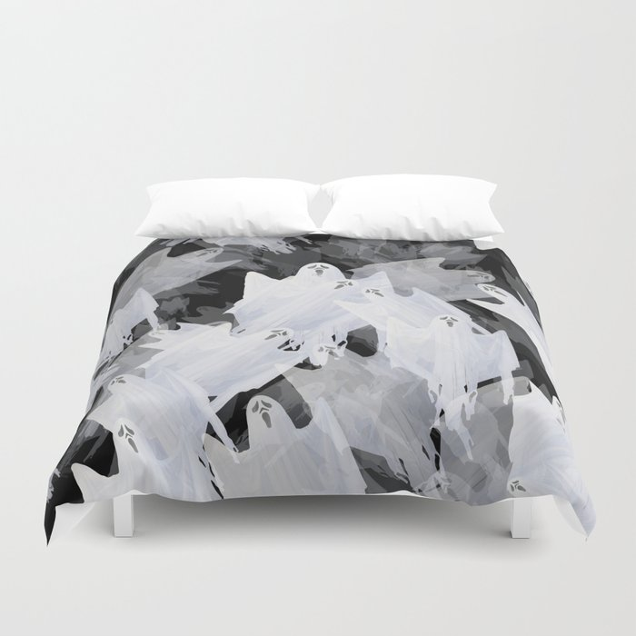 Ghostly! Duvet Cover