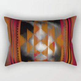 Boho Magic (red) Rectangular Pillow