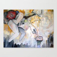 Conscious Cluster Canvas Print