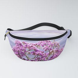 Nature photography Purple flower & sea Purple Dreams I Fanny Pack