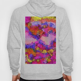 Cubism and flats Hoody