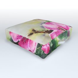 Cherry Blossom Outdoor Floor Cushion