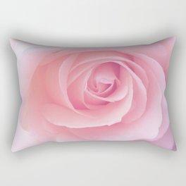 Flower   Pink Rose    Photography   Nature   Spring   Summer Rectangular Pillow