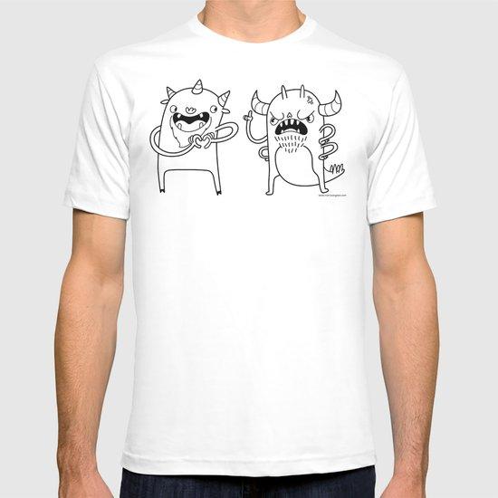 Monster Dialogues T-shirt