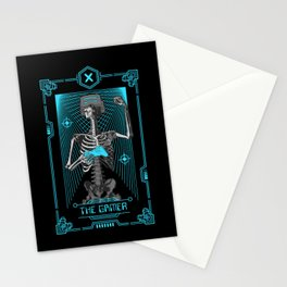 The Gamer X Tarot Card Stationery Cards