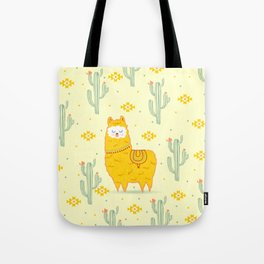 Alpaca summer Tote Bag