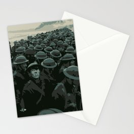 DUNKIRK - Head at War Stationery Cards