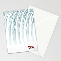 Winter Storm Stationery Cards