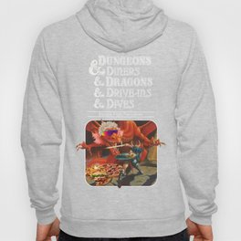 Dungeons & Diners & Dragons & Drives - Ins & Dives : escape from flavortown Hoody