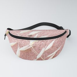 Blush Pink Plant Fanny Pack