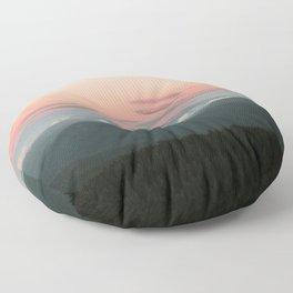 Hood Sunset Floor Pillow