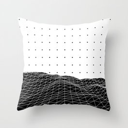 Terra Graphica Throw Pillow